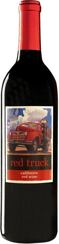 Red Truck Wines - California Merlot :) try White Truck, Pink Truck, Green Truck. Pink Truck, White Truck, Trains, Types Of Wine, Wine Packaging, Wine Design, Wine List, Wine And Spirits, Fine Wine