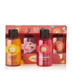 Keep shower time refreshingly fragrant with four of our most creamy, fruity and floral Shower Gels. Buy the shower gel gift set at The Body Shop. The Body Shop, Body Shop At Home, Body Shop Australia, Christmas Gifts For Her, Family Christmas, Face Oil, Face Cleanser, Body Butter, Gift Ideas