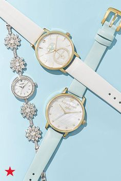 """Whether you are looking for your """"something blue"""" or the very last finishing touch to your wedding day look, this kate spade new york watch collection has what you need. With just the right amount of bling, you'll be shining on your big day wearing one of these. Shop them now on macys.com!"""