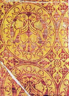 13AD Silk Damask with Medallions