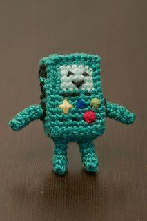 BMO (Adventure Time) Amigurumi Crochet Pattern by Allison McDonough