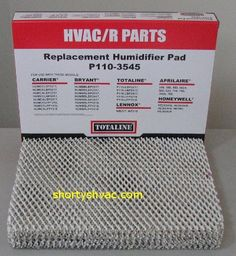 carrier 318518 761. totaline humidifer pad 2 pack - humidifier p/n used with carrier 318518 761 e