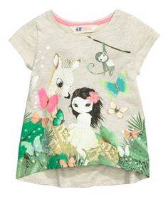 Kids | Girl Size 1 1/2-10y | Tops & T-shirts | H&M US