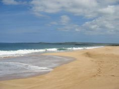 This is exactly how the beaches are in Molokai there is never anyone