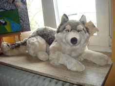 1000 images about wolf on pinterest plush wolves and plush animals. Black Bedroom Furniture Sets. Home Design Ideas