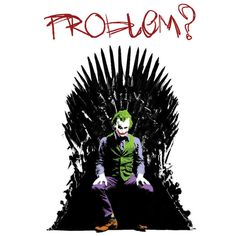 Joker Iron Throne by MigoyLason on DeviantArt Iron Throne, The Force Is Strong, Look At Me, Fangirl, Joker, Marvel, Deviantart, Fictional Characters, Desktop