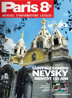 Paris 8e - N°20 - Octobre 2010 - A lire sur : http://fr.calameo.com/read/000536966f69d9e224d8e