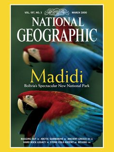 Cover of the March, 2000 Issue of National Geographic Magazine  Photographic Print  by Joel Sartore