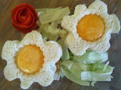 Un sandwich de pavo con una presentación muy original, parece una flor!!!! Super bonito y delcioso!!