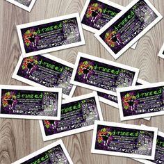 D-ranged Art & Design - Deanna Mosca Gloss Paper Stickers Size 100x50mm  #ozstickerprinting #glosspaperstickers #glossystickers #glosssticker #glosspaper #stickers #stickerprinting #ozstickers #sydneystickers #austickers #stickerau