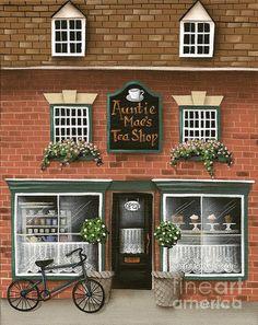 Auntie Mae's Tea Shop ... Catherine Holman