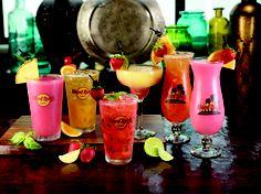 AKA Non-alcoholic beverages at Hard Rock Cafe Smoothie Drinks, Smoothies, Non Alcoholic Drinks, Cocktails, Alcholic Drinks, Usb, Drink Menu, Alcohol Free, Hard Rock