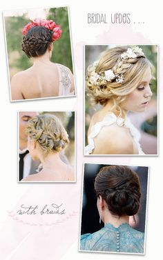 braided updos - tutorials and techniques #DIY #hair #bride #Peinados de novia
