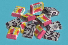 Trebor Fruit Salads & Black Jacks   used to be 4 for a penny