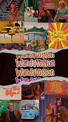 Wanda Marvel, Marvel Avengers, Marvel Comics, Scarlet Witch Marvel, Elizabeth Olsen Scarlet Witch, Paul Bettany, Pinturas Disney, Wanda And Vision, Avengers Wallpaper