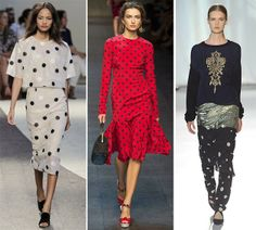 Color-Block By FelyM.: POLKA DOTS FOR SPRING SUMMER 2014