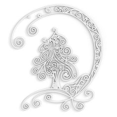 white on white quilling - Google Search