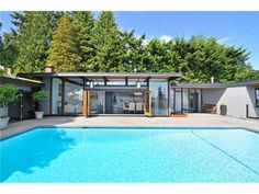 Mid-Century Modern - West Vancouver Fraser Valley, Real Estate Services, Vancouver, Mid-century Modern, Mid Century, Exterior, Architecture, Places, Outdoor Decor