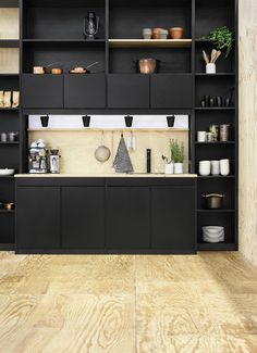 black kitchen design 12