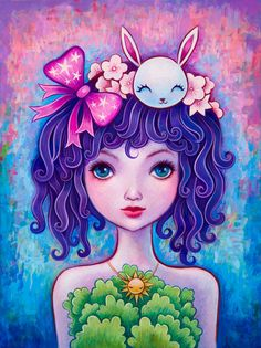 Ivy Curls- Limited Edition Print