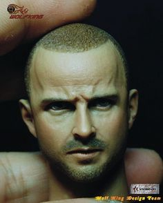 """53.04$  Watch here - http://ai83r.worlditems.win/all/product.php?id=32530962086 - """"1/6 scale figure head shape for 12"""""""" Action figure doll.Breaking Bad Jesse Pinkman head for figure doll, not include body"""""""