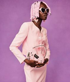 "Moschino on Instagram: ""#Repost @jeremyscott ・・・ PRETTY IN PINK 💗 @achenrin @moschino #moschino photo @marcus_mam @carlynecerfdedudzeele #cerfstyle @dmcasting…"" Jeremy Scott, Moschino, Pretty In Pink, Instagram Repost, Style, Fashion, Draw, Swag, Moda"