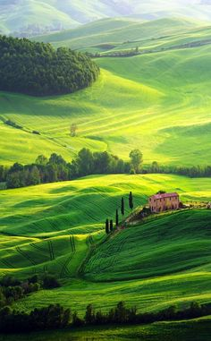 Another beautiful view of Tuscany landscape | 10 Amazing Places in Italy You Need To Visit