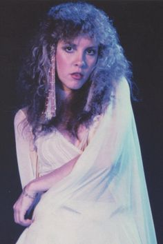Stevie Nicks, postcards included in the 24 Karat Gold Tour VIP package.  Scanned by ledge user MakerofBirds.