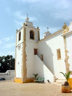 Alvor Church - The Only Building Left Standing After An Earthquake In 1755