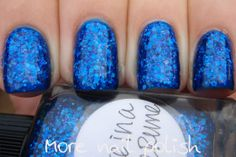 More Nail Polish: Lynnderella - Once in a Blue Rune