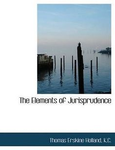 cookbooks: New Elements Of Jurisprudence By Thomas Erskin Holland Paperback Book (English) BUY IT NOW ONLY: $33.51