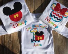 Girls first birthday mickey mouse clubhouse by LittleChickiesClips