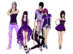 On IMVU Nowherer Purple