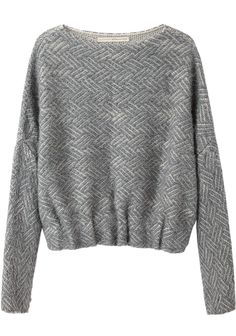 Boatneck Pullover by Lauren Manoogian. Cozy, alpaca blend pullover in slanted line, optical stitch pattern. Knit Fashion, Womens Fashion, Style Fashion, Look 2018, Mode Top, Mode Inspiration, Sweater Weather, Silhouettes, Knitwear