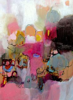 Don't quit your day job by Wendy Mcwilliams - acrylic on canvas