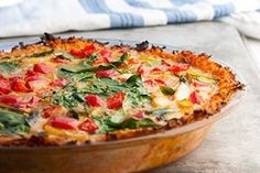 Sweet Potato Hash Brown Quiche from our newsletter -- totally metabolism-friendly!