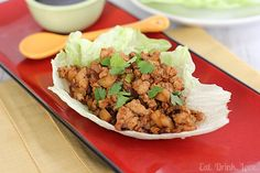 Copycat P.F. Chang's Chicken Lettuce Wraps   Eat. Drink. Love.