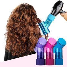 Blow Dryer Diffuser, Hair Diffuser, Easy Curls, Easy Hair, Hair Blow Dryer, Thick Curly Hair, Straight Hair, Bouncy Curls, Magic Hair