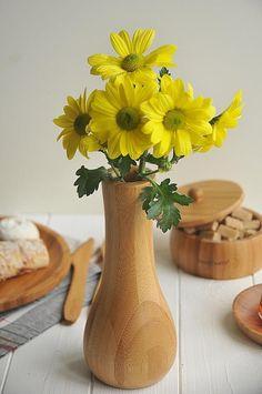 Bamboo vase, lotus vase, bamboo vase of flowers Flower Vases, Flowers, Drawing Reference, Lotus, Bamboo, Etsy Shop, Beautiful, Home Decor, Bud Vases