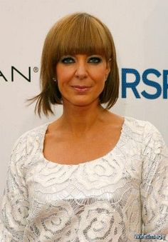Love Allison Janney with bangs!