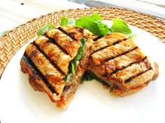Meatball Panini's are a great lunch or dinner idea for the busy summer months. Quick and easy with only 5 ingredients! Click the photo to view the recipe page.