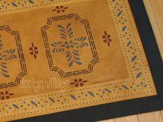 Bump Tavern Floorcloth