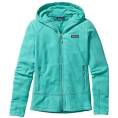 Patagonia Women's Emmilen Hoody (200 NZD) ❤ liked on Polyvore featuring activewear, howling turquoise, patagonia and patagonia sportswear