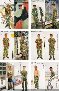 PIN made by RomANikki | BATTLEFIELD REALISM: THE EIGHTEEN ARHATS (set of 18, left part), Liu Xiaodong (b1963, Jincheng, Liaoning Province, China)
