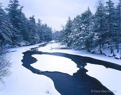 Porcupine Mountains State Park, Michigan, presque isle river photo