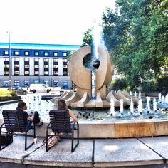 Brunnen Bellevue Dresden