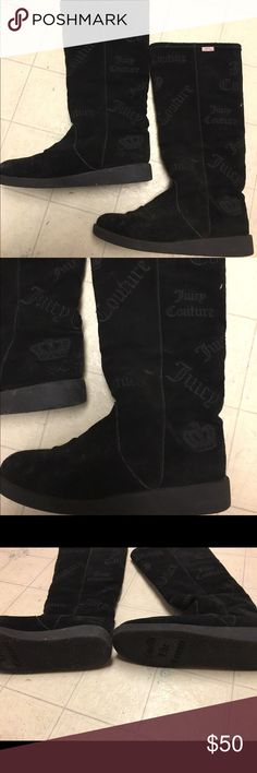 Juicy Couture boots Juicy Couture authentic winter boots - fit as a size 7-7.5 * REDUCED FINAL PRICE Juicy Couture Shoes Winter & Rain Boots