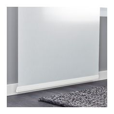 VIDGA Panel curtain holder IKEA To be used for panel curtains to assure they hang smooth and straight.