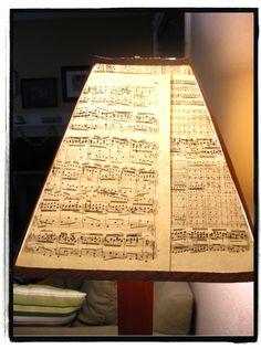 Music sheet shade