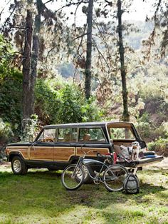 1987 Jeep Grand Wagoneer.    I love this guy's passion and his craftsmanship: http://grandwagoneer.com/    I just wish I could afford one...